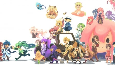 Vocaloid Chibi Other Anime Background Wallpapers On Desktop