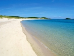 St Martins The Isles of Scilly Cornwall United Kingdom - England - white sand beach bay and clear blue sea