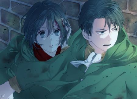 Levi Mikasa Other Anime Background Wallpapers On Desktop Nexus Image 1523577