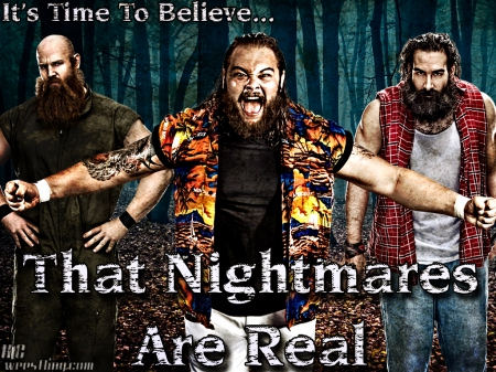 The Wyatt Family - team, family, wwe, wyatt