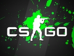 CSGO Green Splatter