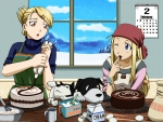 Hawkeye and Winry