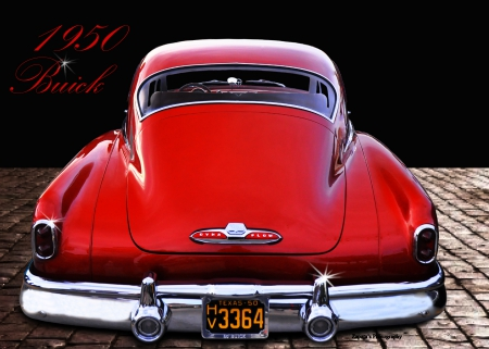 1950 buick - nineteenfifty, buick, classis, car