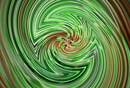 Mix of color - green - mix of color, 3D and CG, green, abstract