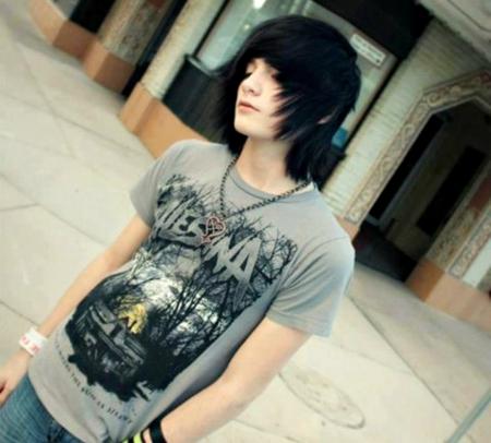 Cute teen model boys