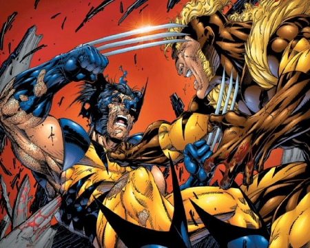 cd777c0fdd3 Wolverine vs Sabretooth - Other & Entertainment Background ...