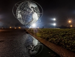 the unisphere at flushing meadow park nyc