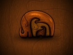 ABSTRACT ELEPHANT ART