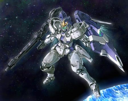 tallgeese 3 - space, gundam, wing, tallgeese3