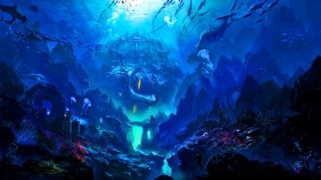 Underwater Kingdom Oceans Amp Nature Background Wallpapers