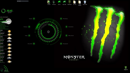 monster engi gondo pantalla - dw, monster, w, a