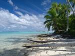 One Foot Island Aitutaki Tuamatu Atoll French Polynesia