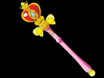 Spiral Heart Moon Rod