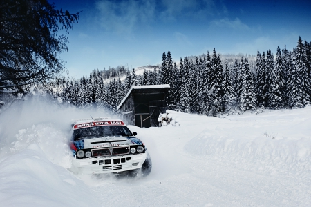 Lancia Delta - speed, off-road, snow, Lancia, 4x4, rally, wrc