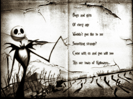 Nightmare Before Christmas - dark, nightmare before christmas