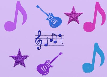 Music guitars and stars textures abstract background wallpapers music guitars and stars light purple pink backgrounds blue metallic thecheapjerseys Choice Image
