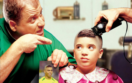 Just DO WHAT I SAY! - cut, hair, celebrity, boy, funny, father