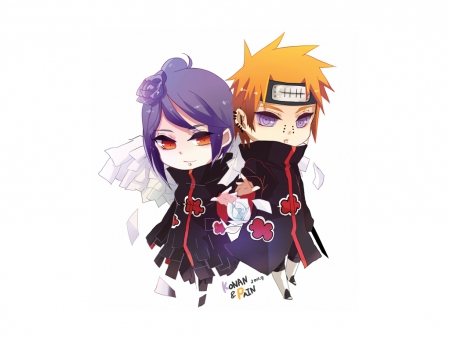 Pain Konan Naruto Anime Background Wallpapers On Desktop