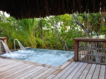 Jacuzzi at Beach Side Villa