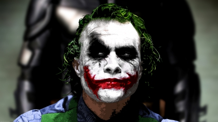 The Joker - heath ledger joker, The Joker, the dark knight, heath ledger