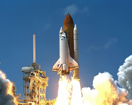 we have lift off - spacecenter, endeavour, launch, kennedy, shuttle