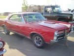 1967 Pontiac GTO in Red color