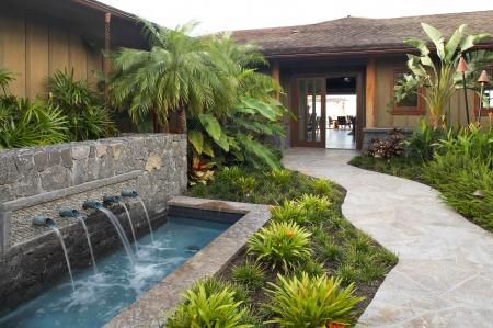 astonishing beautiful zen garden | Beautiful Hawaiian Zen Garden with waterfall and Pond ...