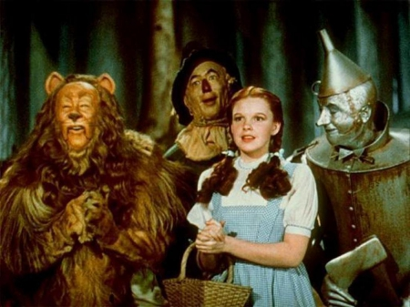 Wizard of Oz - Tin Man, Scare Cow, Cowardly Lion, Dorthy