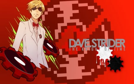Dave strider - homestuck, dave, dave strider, strider, knight of time