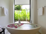 Tropical Modern Contemporary Luxury Bathroom at a Beautiful Resort