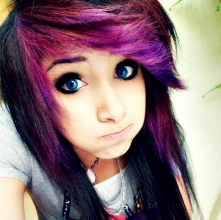 Emo Scene Cute Girl Girls Wallpapers And Images