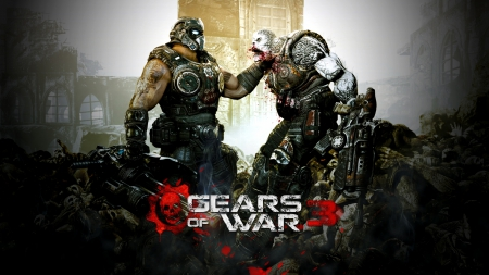 gears of war - games, 3, war, video