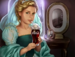 Princess With Coke Float