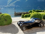 Bugatti at Lake Como, Italy
