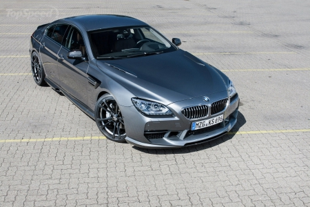 2014-BMW-6-Series-Gran-Coupe-by-Kelleners. - Black Wheels, Bmw, Gray, 2014