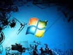 Windows 7 in grafiti