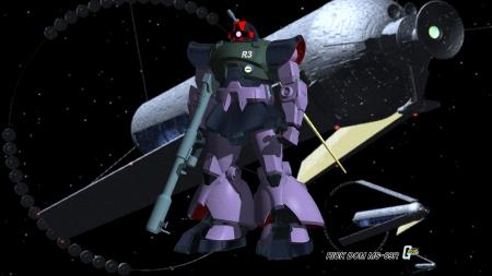 Mobile Suit Gundam Rick Dom Ms 09r Gundam Wing Anime