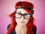 Cute Emo Redhead Model