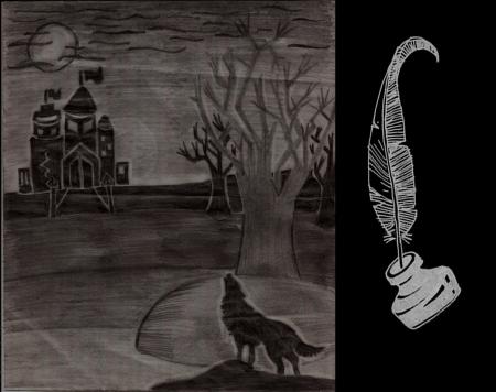 Lobo Y Luna Fantasy Abstract Background Wallpapers On Desktop