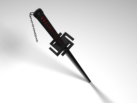Tensa Zangetsu - item, object, hd, cg, zanpakuto, balde, objects, beautiful, palin, nice, beauty, weapon, realistic, sword, bleach, items, tensa zangetsu, 3d, bankai, simple