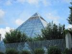 The Botanical Garden Glass Pyramids