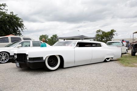 Chop Top Caddy - Cadillac, Slammed, White, Gm