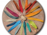 Mother Nature's Color Wheel by Pixy Cakes
