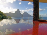 Beautiful View - St Lucia Paradise Island Caribbean West Indies