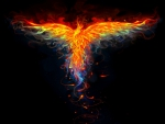 'Wings Flames Emerge'