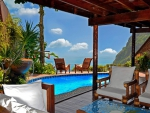 Luxury Hotel in the Mountains of St Lucia Caribbean - Swimming Pool