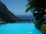 Paradise Resort in the Mountains overlooking Ocean St Lucia Caribbean
