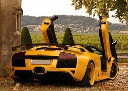 Lamborghini GTT at Italian Landscape - sport car, lamborghini gtt, italian landscape, lamborghini, super sport car, murcielago