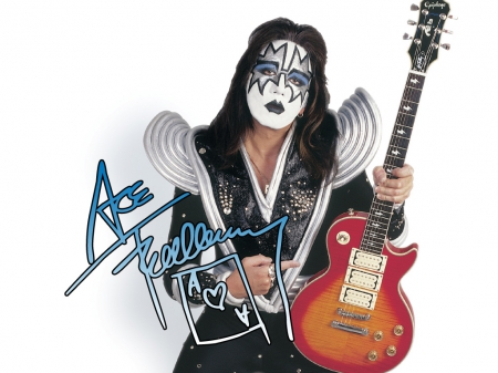 Ace Frehley of KISS - Space, Ace, Guitar, Lead