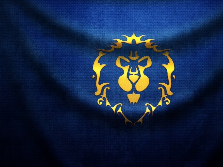 world of warcraft alliance banner - banner, world of warcraft, alliance, nice